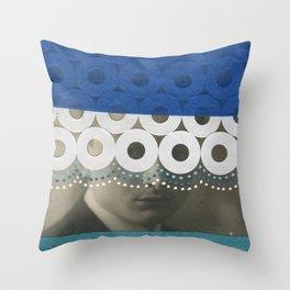 Voyeur Throw Pillow