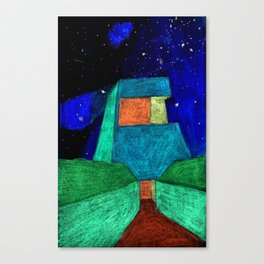 The Entry Canvas Print