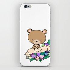 Brown Bear, NO! iPhone & iPod Skin