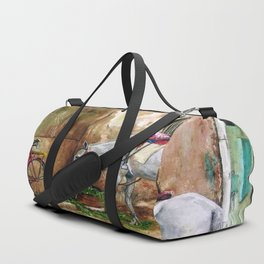 Sultry day Duffle Bag