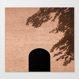 brick facade poster Canvas Print