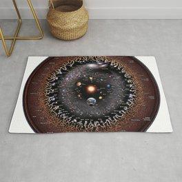 Observable Universe Logarithmic Illustration (Annotated 2019 Version!) Rug