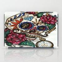 gentleman iPad Cases featuring Gentleman by catscratchproject