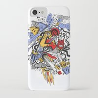 random iPhone & iPod Cases featuring Random by waldy chavez