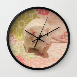 Pipes the rat Wall Clock