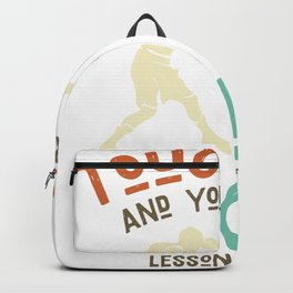 Your first boxing lesson is free - boxer Backpack