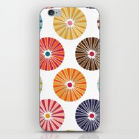 carousel iPhone & iPod Skins featuring carousel by Sharon Turner