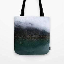 Reservoir On The Soca River Tote Bag
