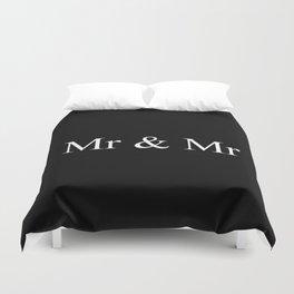 Mr & Mr Monogram Simple Duvet Cover