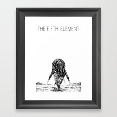 Movies we like - The Fifth Element Framed Art Print