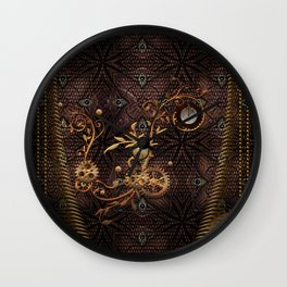 Steampunk, gallant design Wall Clock