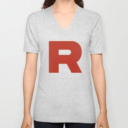 Team Rocket  Unisex V-Neck