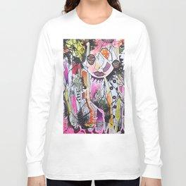 Pink Clown Long Sleeve T-shirt