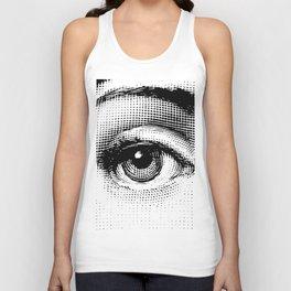 Lina Cavalieri Eye 01 Unisex Tank Top