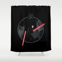 sith Shower Curtains featuring Sith Uprising by Steven Toang