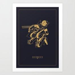 Metal Gear Solid Rex Art Print
