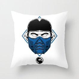 Sub Zero - Mortal X Throw Pillow