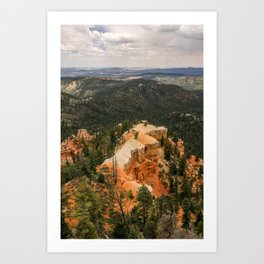 Piracy Point in Bryce Canyon National Park Art Print