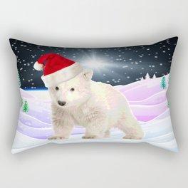 Save My Home | Christmas Spirit Rectangular Pillow