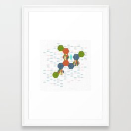 Hexism Framed Art Print