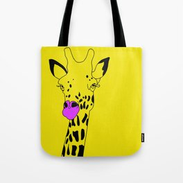 Goldie The Giraffe  Tote Bag