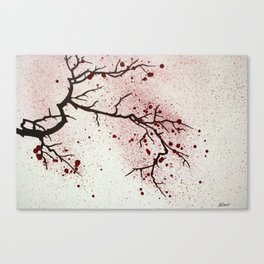Cherry Branch Canvas Print