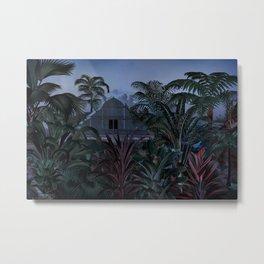 Future Garden Metal Print