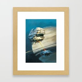 Saturn II Framed Art Print