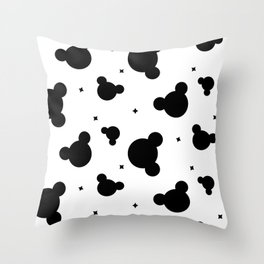 Mouse ears Throw Pillow