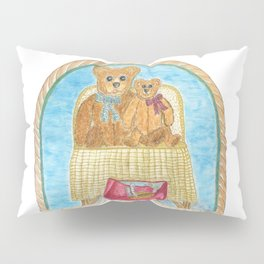 For The Love Of Teddys Pillow Sham