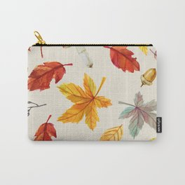 autumn pattern Carry-All Pouch