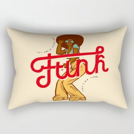 Funk Girl Rectangular Pillow