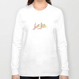 three little frogs Long Sleeve T-shirt