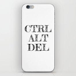 CTRL ALT DEL iPhone Skin