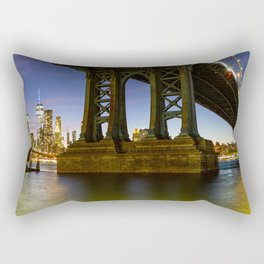 NYC from Brooklyn Rectangular Pillow