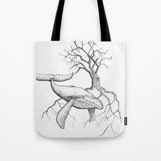 The Land Meets the Sea Tote Bag
