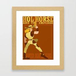The Whole Horse Framed Art Print