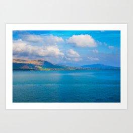 Mourne Mountains | Carlingford Lough Art Print