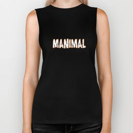 Manimal Biker Tank