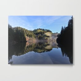 Perfection Reflection Metal Print