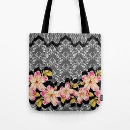 Azelea Border Tote Bag
