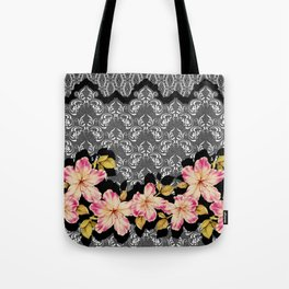 Azelea Border Tote Bag