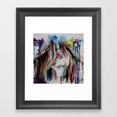 Haircolor (Study) Framed Art Print