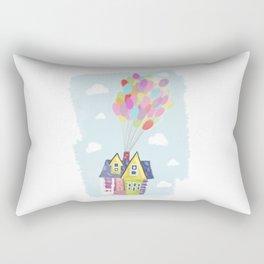 Up in the sky Rectangular Pillow