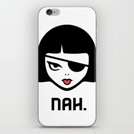 Patchy Says Nah. iPhone Skin