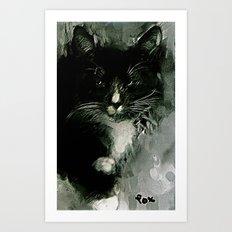 TUXEDO Art Print