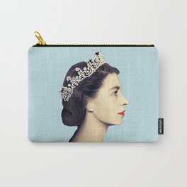QUEEN ELIZABETH II - THE YOUNG QUEEN IN PROFILE Carry-All Pouch