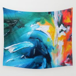 Oasis on Fire Wall Tapestry