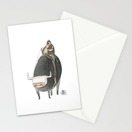 Numero 5 -Cosi che cavalcano Cose - Things that ride Things- NUOVA SERIE - NEW SERIES Stationery Cards