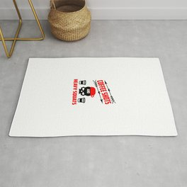 coffee shots and heavy squats funny gym quote Rug